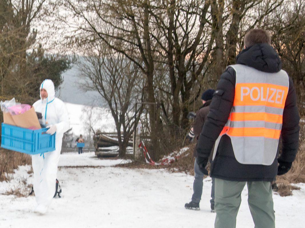 Die Spurensicherung am Tatort - Foto: Pascal Höfig