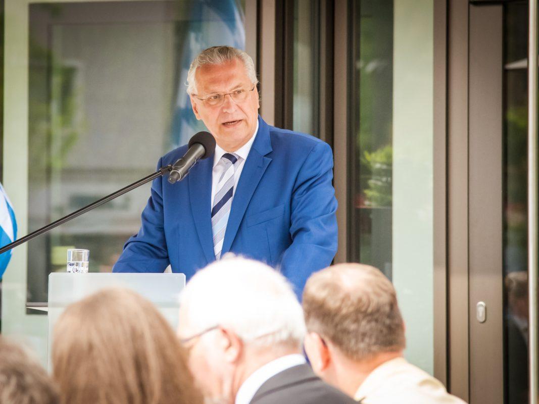 Bayerns Innenminister Joachim Herrmann. Foto: Pascal Höfig