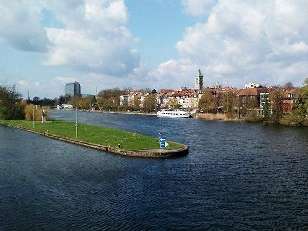 Schweinfurt am Main. Foto: SWity