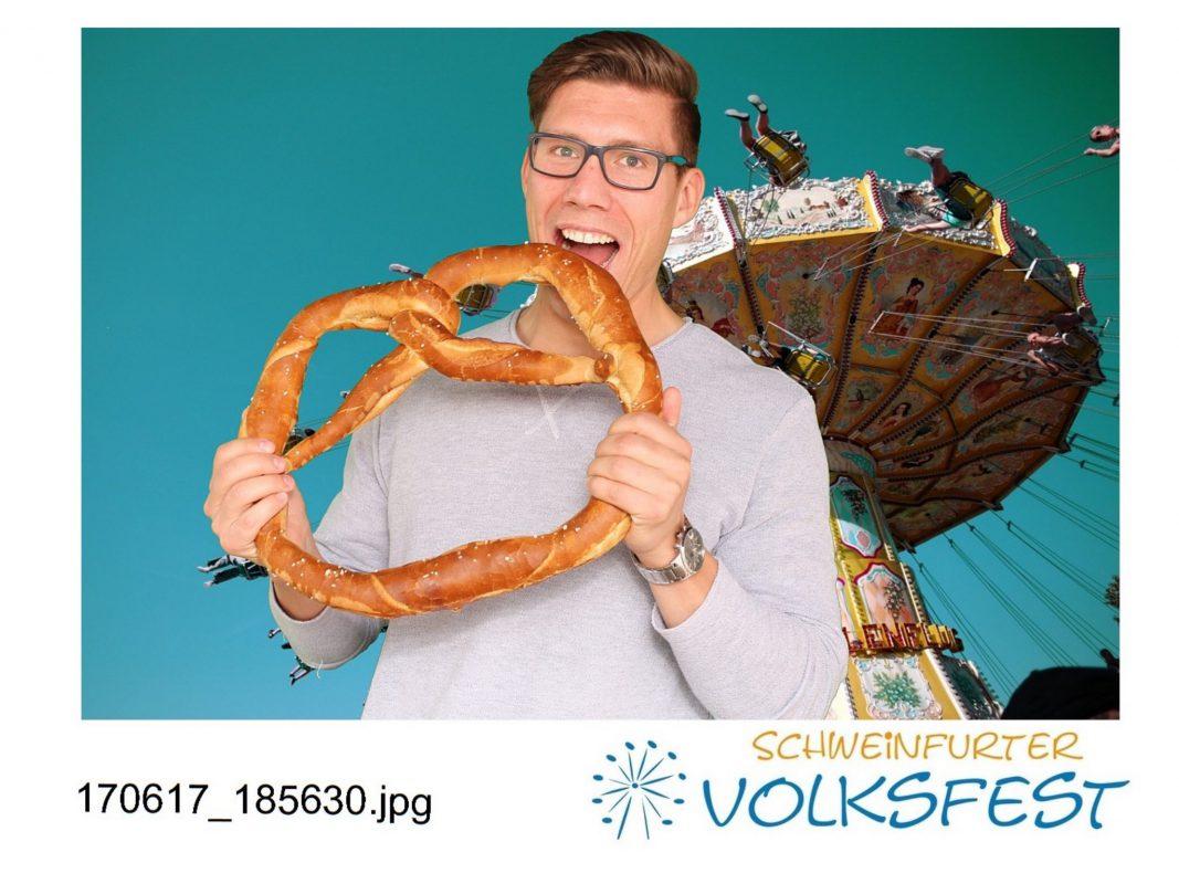 Volksfest-Gesicht Gewinner Joachim Fischer. Foto: Daggi Binder, maizucker