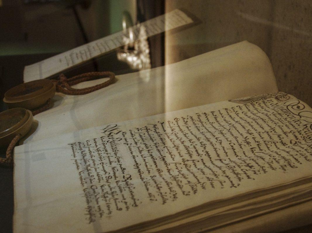 Die Ausstellung über Julius Echter. Foto. Museum am Dom