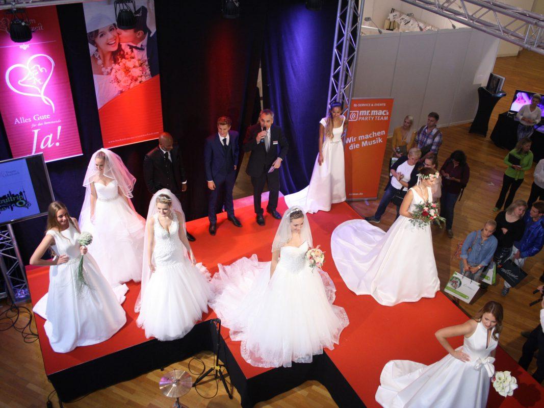Ein Traum in Weiß. Foto: Hochzeitsmesse Traumhochzeit