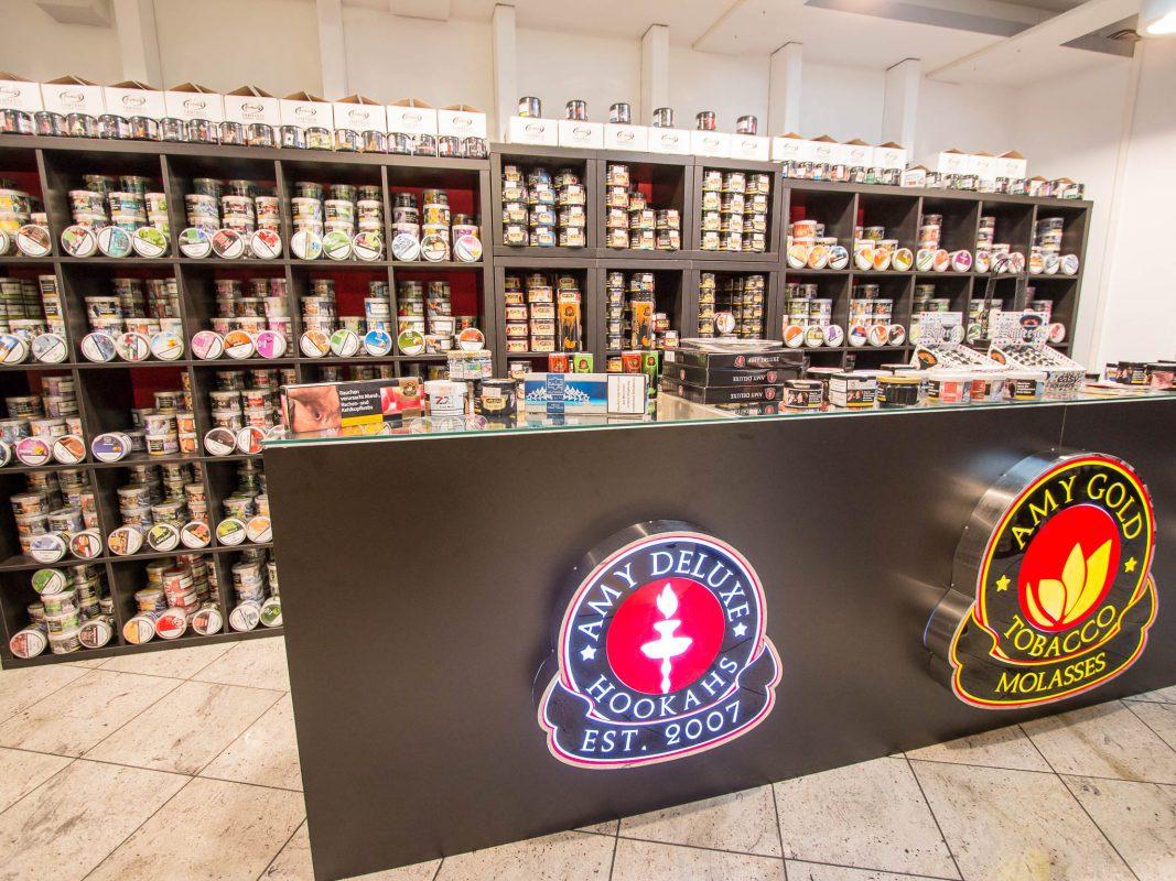 Der AMY Shop Würzburg in der Sanderstraße 1. Foto: Ralf-Jochen Scheibe