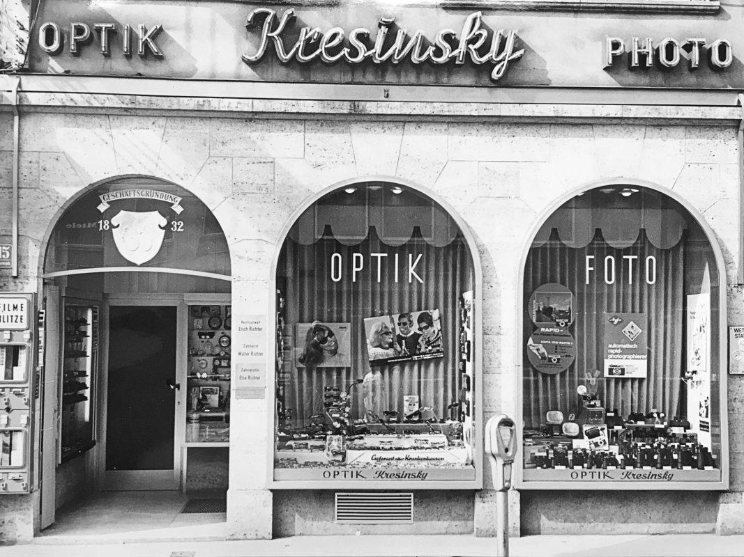 Brillenstudio Kresinsky - Augenoptik seit 1832. Foto: Brillenstudio Kresinsky.