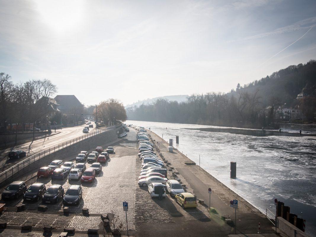 Die Mainpromenade südlich der Löwenbrücke. Foto: Pascal Höfig