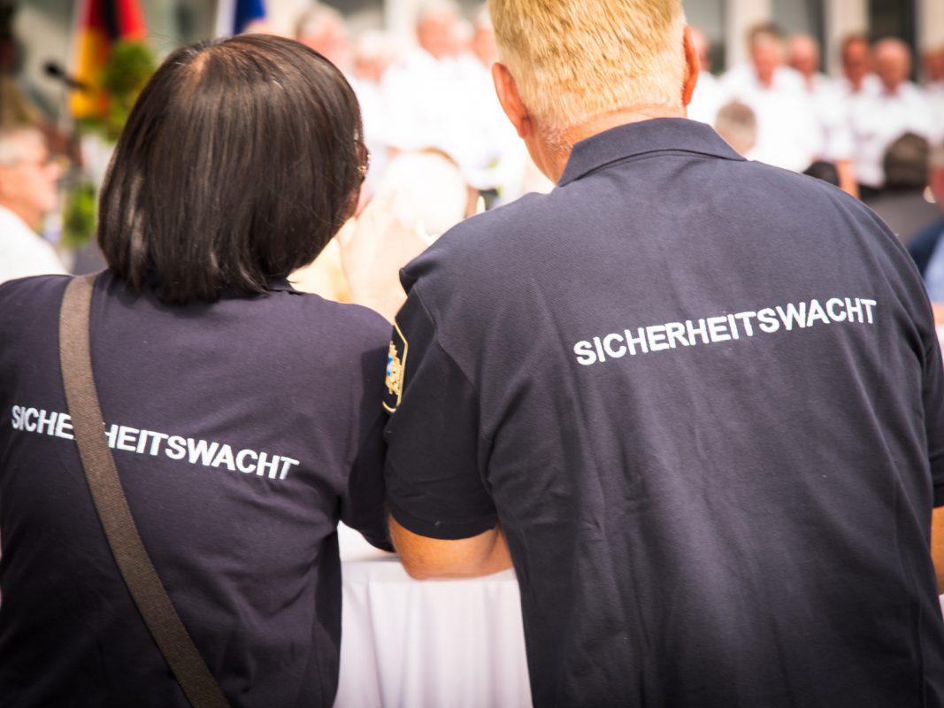 Die Sicherheitswacht. Foto: Pascal Höfig