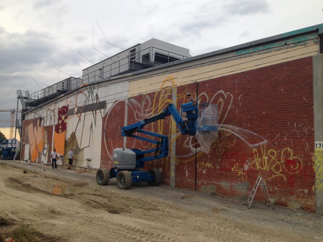 Graffiti-Kunst beim Streetmeet Festival. Foto: Landesgartenschau Würzburg 2018 GmbH