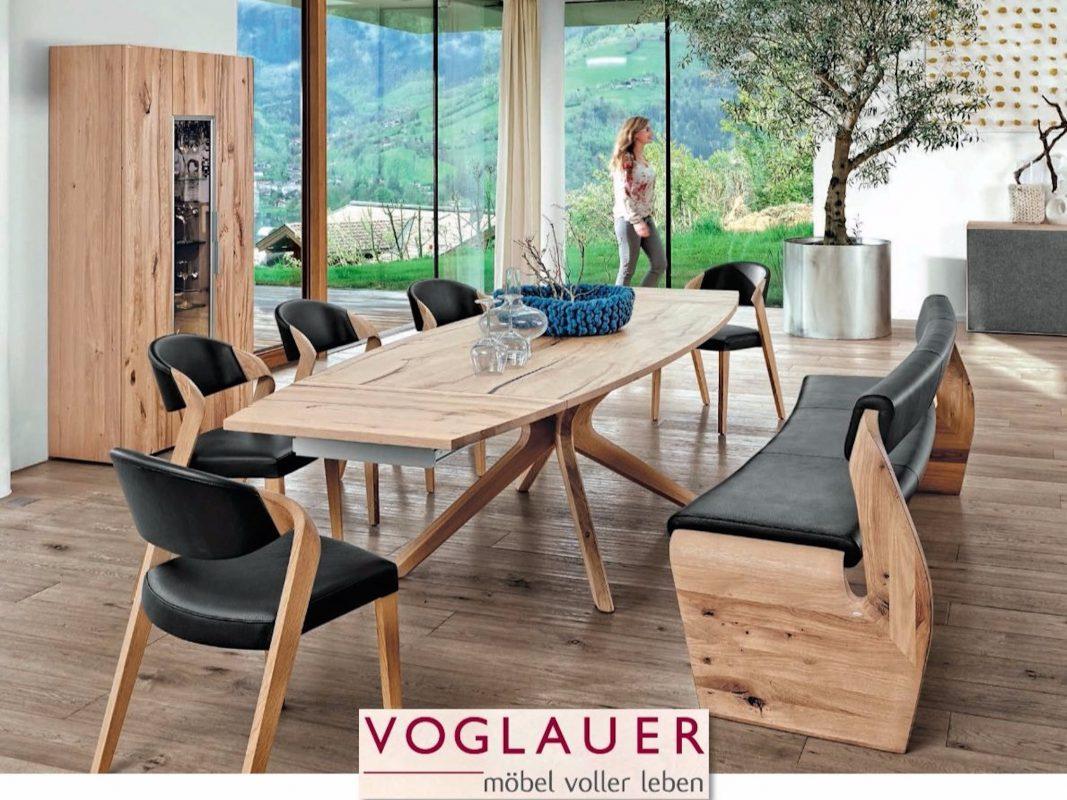 Das Speisezimmer von Voglauer gibt es zum Geburtstag von Herbert Hornung zum Aktionspreis. Fotoquelle: Möbel Hornung