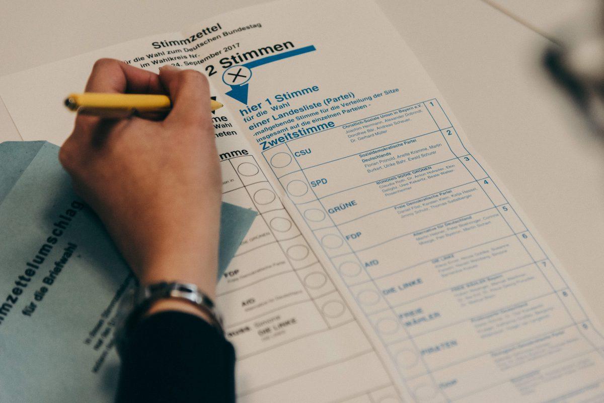 Bundestagswahl 2017. Foto: Pascal Höfig