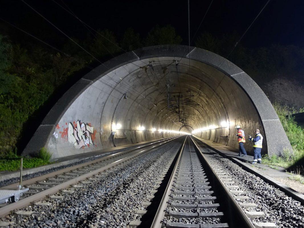Der Tunnel. Foto: Johannes Hardenacke/Regierung von Unterfranken